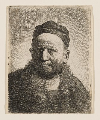 Rembrandt's father (?)