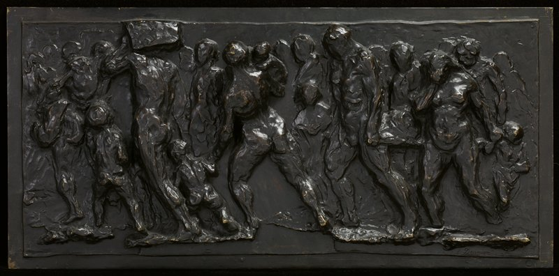 bas-relief; the bronze was cast by Siot-Decauville and bears the number 4