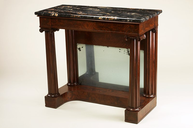 side table, marble top