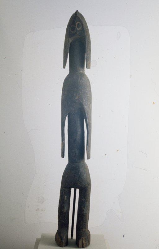 Ancestor Figure; wood; Nigeria, Mumuye Tribe, XIXc.