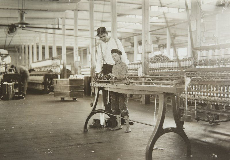 mill workers, Mississippi