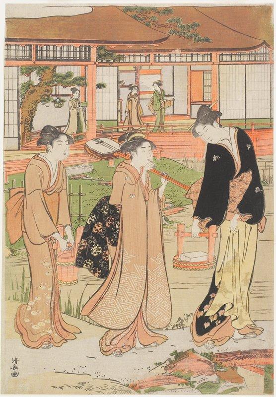 left sheet of a triptych