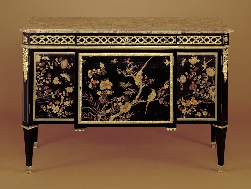 Louis XVI Cabinet (Meuble D'Entre Deux)