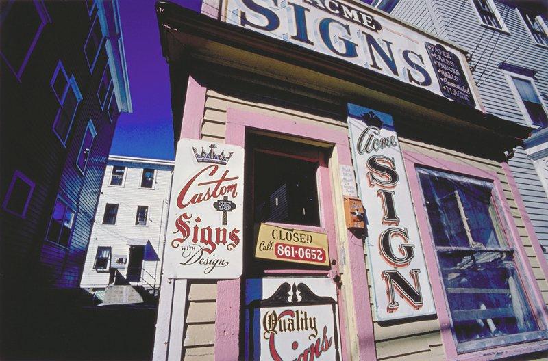 Acme Sign Shop, Providence