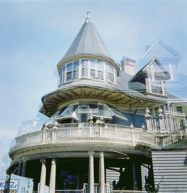 multiple exposure 'revolving house,' Providence