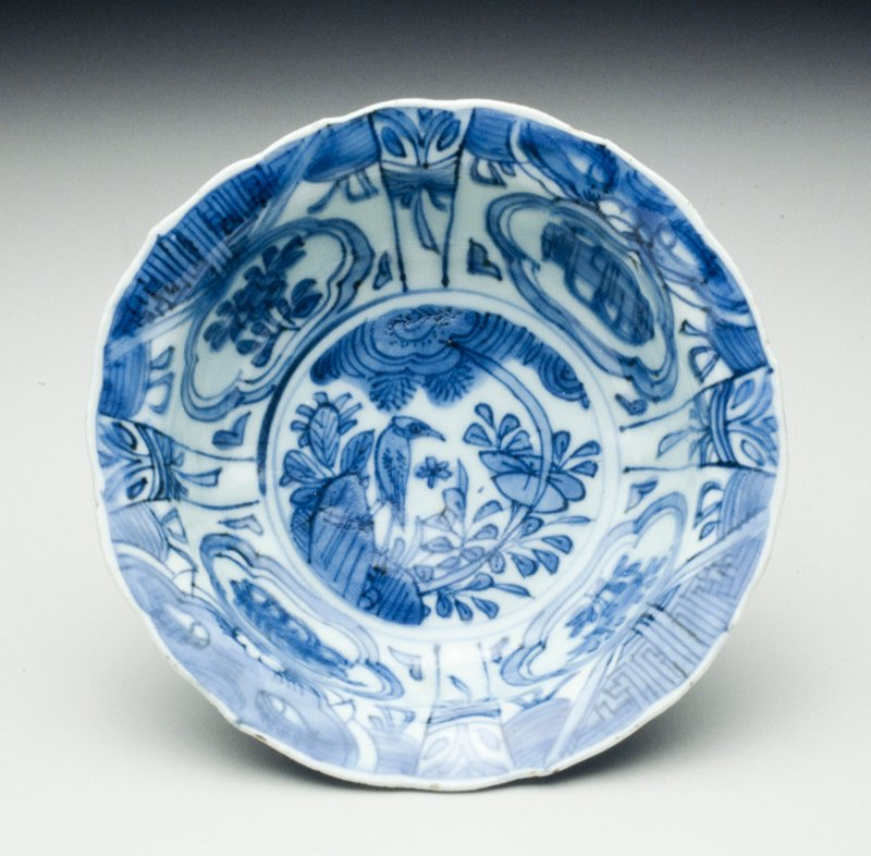 bowl, ceramic, Chinese Export