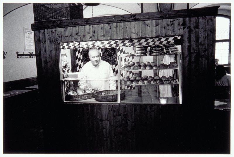 Bread and pretzel vendor