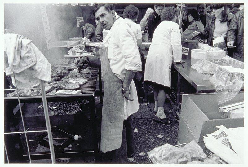 barbecue vendor