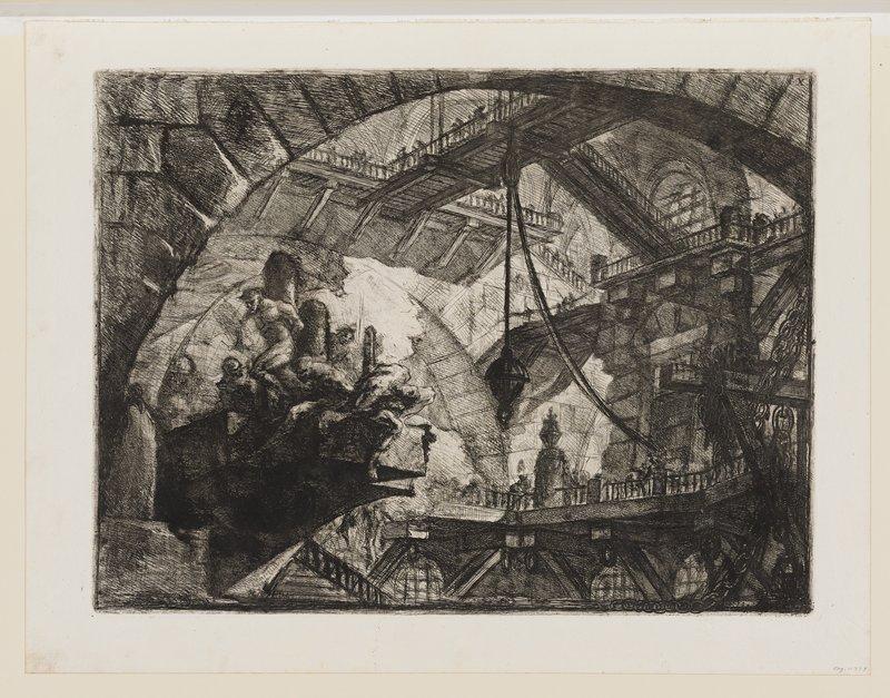 Plate 10 from Carceri d'Invenzione
