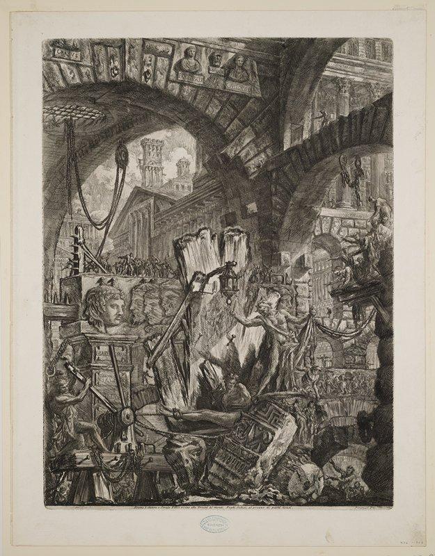 Plate 2 from Carceri d'Invenzione