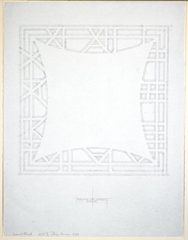From a suite of four etchings, each depicting a metaphorical clockface design.