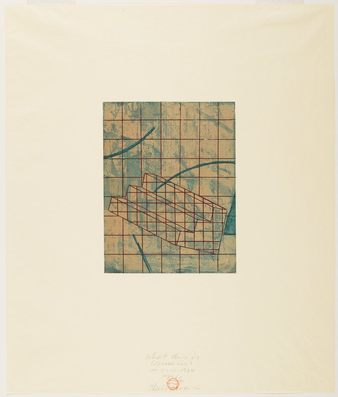 Suite of five color etchings with aquatint on ivory Bodleian laid paper; housed in a handmade paper portfolio with ink-stamped title on cover.