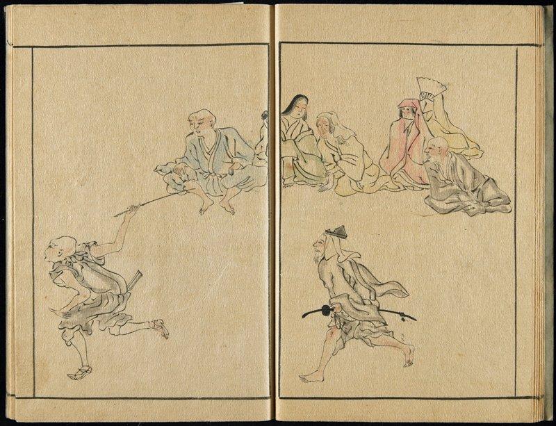 sumizuri-e, probably kyo_ka-bon; although no kyo_ka on this book