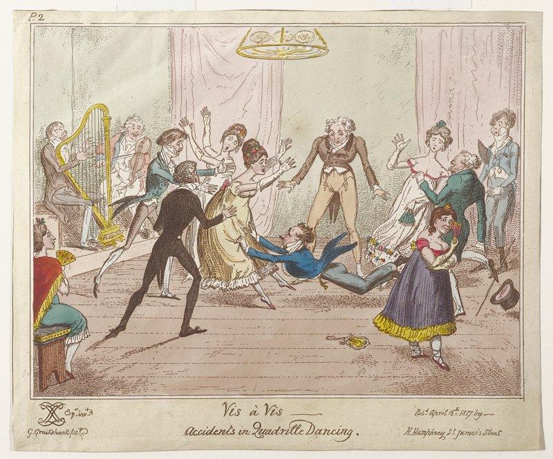 Plate 2; Caricature