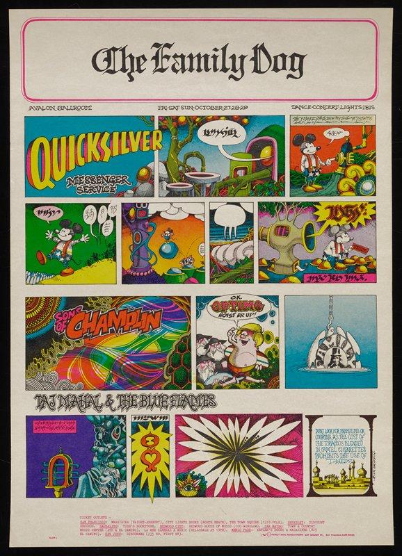 Quicksilver Messenger Service comic strip