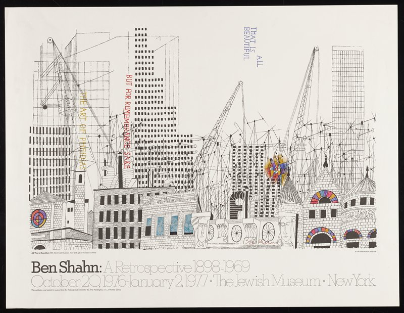 skyline of building and architectural drawings