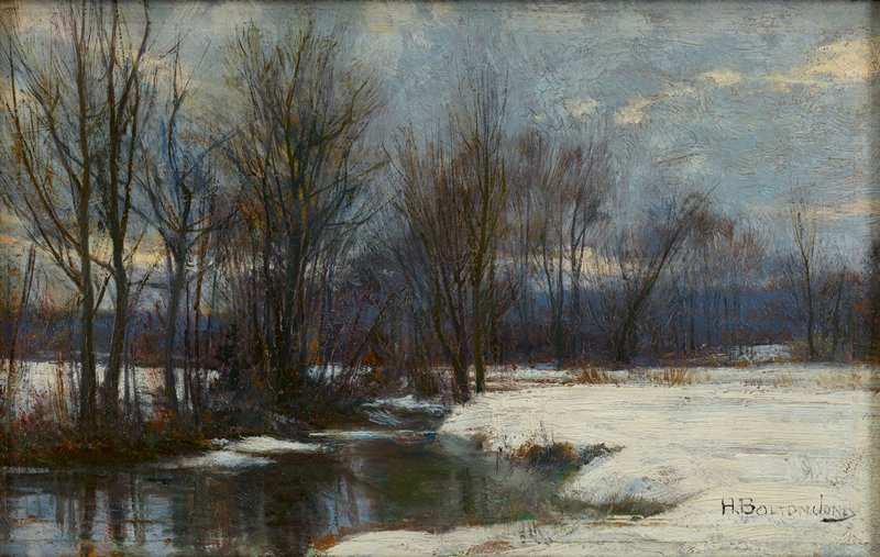 Winter Landscape 19th Century
