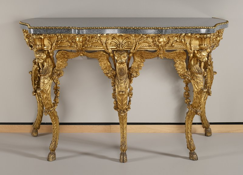 Neoclassical Marble Top Table; Corresponds Exactly To One Of The Engravings  In Piranesiu0027s Volume