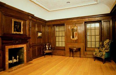 2 door frames, 2 pieces of molding, 2 doors, 3 panels, and miscellaneous trim